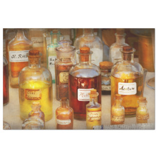 Pharmacy - Serums and Elixirs Tissue Paper