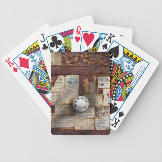 Pharmacy - Signs of the time Bicycle Playing Cards