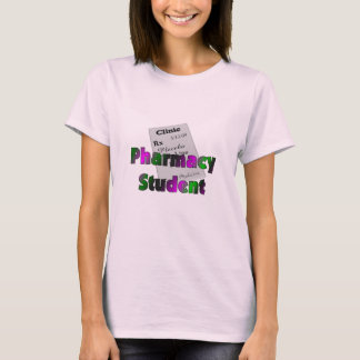Pharmacy Student--Adorable Rx Graphics T-Shirt