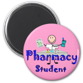 Pharmacy Student Gifts 2 Inch Round Magnet