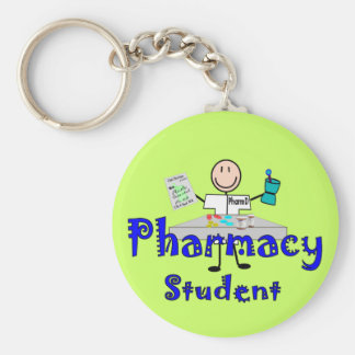Pharmacy Student Gifts Basic Round Button Keychain