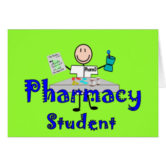 Pharmacy Student Gifts Greeting Card