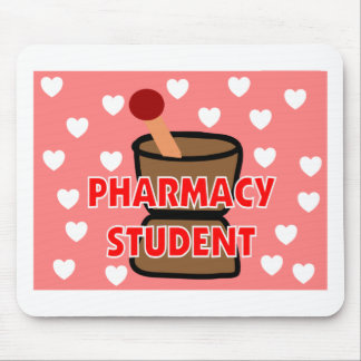 """""""PHARMACY STUDENT"""" Gifts Mouse Pads"""