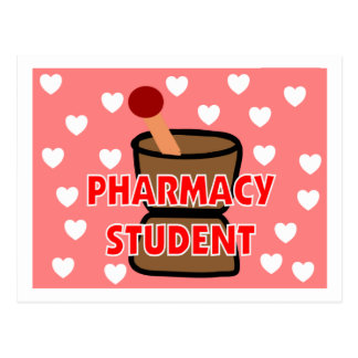 """""""PHARMACY STUDENT"""" Gifts Postcard"""