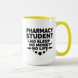 Pharmacy Student No Sleep No Money No Life Mug
