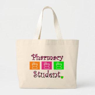 pharmacy student tote bag, pestle and mortar jumbo tote bag