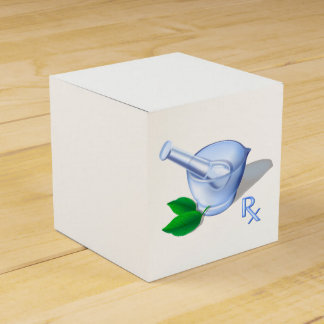 Pharmacy Symbols Favor Box