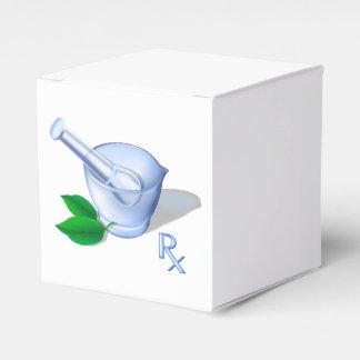 Pharmacy Symbols Wedding Favor Box