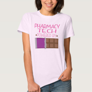 Pharmacy Tech Chocolate Gift for Her T Shirt