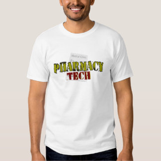 Pharmacy Tech Gifts With Prescription Design T-shirts