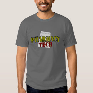 Pharmacy Tech Gifts With Prescription Design T Shirts