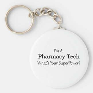 Pharmacy Tech Keychain