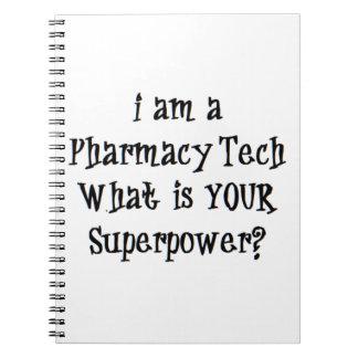 pharmacy tech notebook