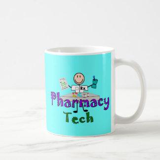 Pharmacy Tech Stick People Design Gifts Mugs