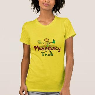 Pharmacy Tech Stick People Design Gifts Tee Shirts