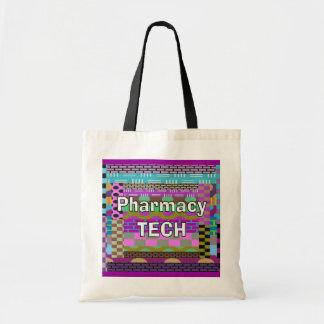 Pharmacy  Tech Tote Abstract Art