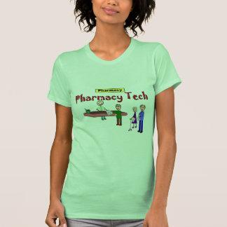 Pharmacy Tech With Customers Design Tshirt