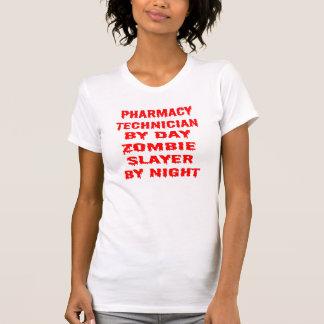 Pharmacy Technician by Day Zombie Slayer by Night T-shirts