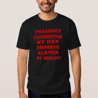 Pharmacy Technician by Day Zombie Slayer by Night Tee Shirt