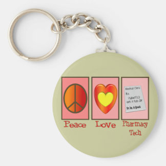 Pharmacy Technician Gifts Keychain