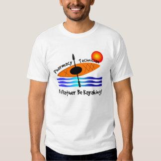 Pharmacy Technician Kayaking T-Shirts