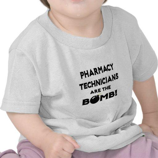 Pharmacy Technicians Are The Bomb! Tee Shirts