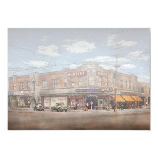Pharmacy - The corner drugstore 1910 Card