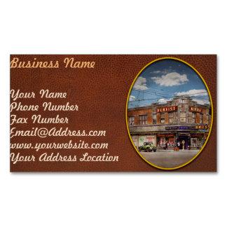 Pharmacy - The corner drugstore 1910 Magnetic Business Card