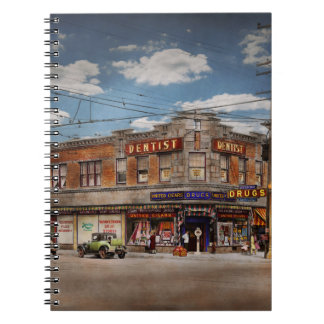 Pharmacy - The corner drugstore 1910 Notebooks