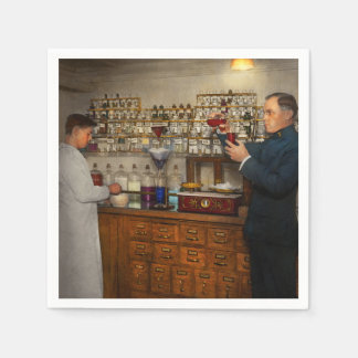 Pharmacy - The mixologist 1905 Disposable Napkins