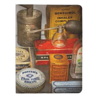 Pharmacy - The pain king Extra Large Moleskine Notebook