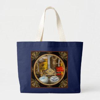 Pharmacy - The pain king Large Tote Bag