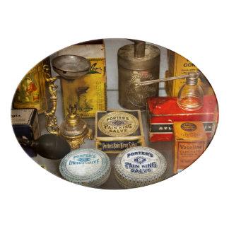 Pharmacy - The pain king Porcelain Serving Platter