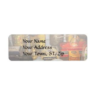 Pharmacy - The pain king Return Address Label