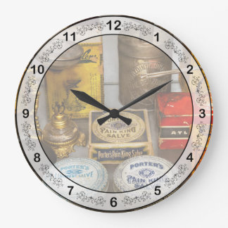 Pharmacy - The pain king Wallclocks