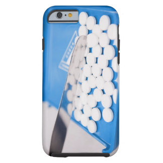 Pharmacy tools, pills, medication tough iPhone 6 case