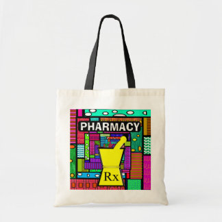 Pharmacy Tote Whimsical and Artsy