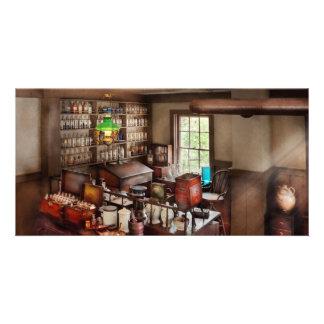 Pharmacy - Where I make medicine Photo Greeting Card