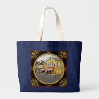 Pharmacy - WL Bond Drugs and Seeds 1927 Large Tote Bag