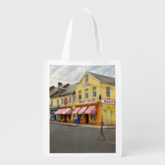 Pharmacy - WL Bond Drugs and Seeds 1927 Market Totes
