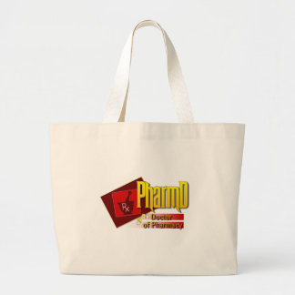 PharmD Doctor of Pharmacy LOGO Large Tote Bag
