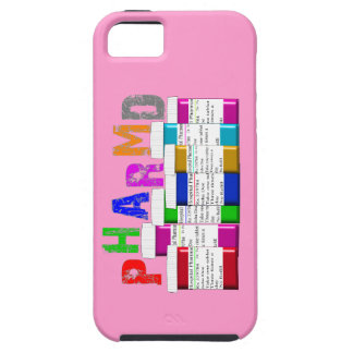 PharmD Vibe iPhone 5 Case Pink Rx Containers