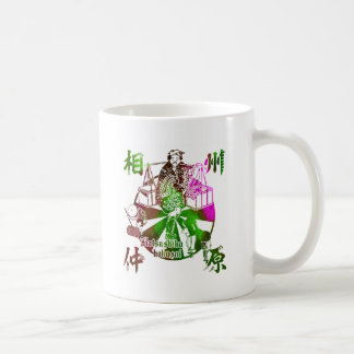 Phase state relations field coffee mug
