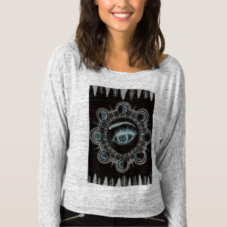 Phases of the Moon Eye T-shirt