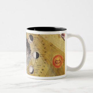 Phases of the Moon, from 'The Celestial Atlas Two-Tone Coffee Mug