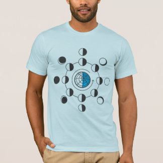Phases of the Moon Light T-Shirt