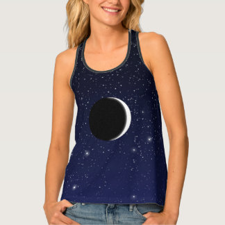 Phases of the Moon, new moon Tank Top