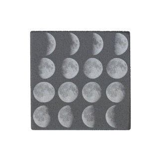 Phases of the moon stone magnets