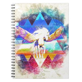 Phate-Arcynn Ahnna Jha Unicorn Notebook