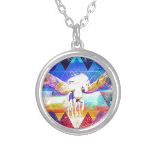 Phate-Arcynn Ahnna Jha Unicorn Silver Plated Necklace